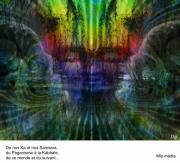 art numerique scene de genre : La mort en face et de profil