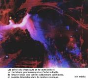 art numerique abstrait : les piliers du crépuscule