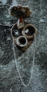 sculpture personnages : masque