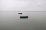photo paysages barques mer pastel gerard vouillon : Suspension