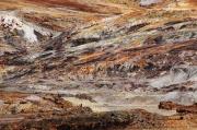 photo abstrait espagne andalousie cuivre gerard vouillon : Cu29 a ciel ouvert (2)
