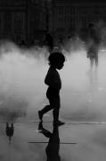 photo personnages enfants bordeaux contre jour gerard vouillon : P'tit bohomme