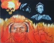 painting : voodoo child