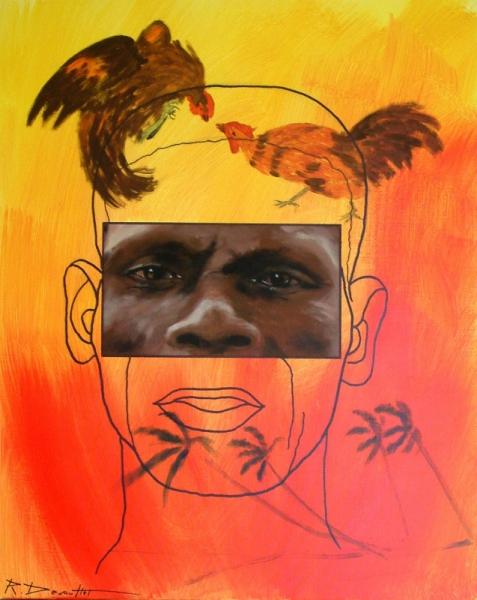 TABLEAU PEINTURE  - caribean dream