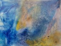 "Abstrait "" blue"""