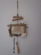 deco design autres cadre photo bois flottes galet : Cadre photo bois flottés
