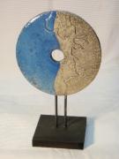 ceramique verre abstrait raku roue ceramique : Roue_Profil-1