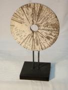 ceramique verre abstrait raku roue ceramique : Roue_Rayons-1