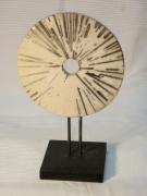 ceramique verre abstrait raku roue ceramique : Roue_Rayons-4