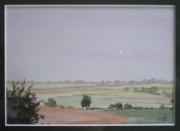 tableau paysages paysage pres champs prairies : Paysage