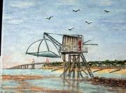 tableau marine pecherie pont stbrevinlespins 44 : St-Brévin-Les-Pins 44