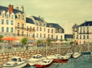 tableau marine le croisic le port unique nouveau : Le port du Croisic 44
