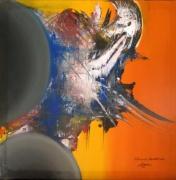 tableau abstrait tableau abstrait peinture ,a l hu oeuvre abstrait tableau ,a l hui : voyageur sans désirs