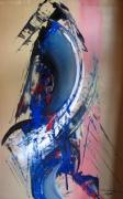tableau abstrait tableau abstrait peinture ,a l hu oeuvre abstrait abstrait : danse vive