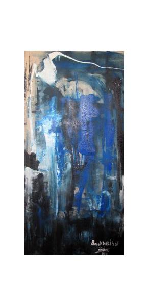 TABLEAU PEINTURE tableau abstrait abstrait oeuvre abstraite peinture abstraite Abstrait Peinture a l'huile  - Mer et terre