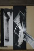 tableau abstrait tableau abstrait peinture ,a l hu oeuvre abstrait abstrait : Profondeurs