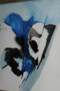tableau abstrait tableau abstrait peinture ,a l hu oeuvre abstrait abstrait : Calme et pureté des ténèbres