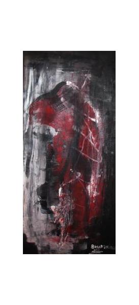 TABLEAU PEINTURE tableau abstrait abstrait oeuvre abstraite peinture abstraite Abstrait Peinture a l'huile  - Perte