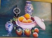tableau fruits : oranges