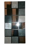 deco design architecture miroir effet beton argent : Reflets de béton