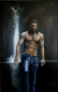Apôtre en blue jean