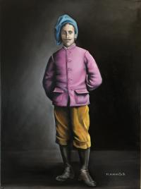 Jeune homme à la tarte. Pierre Louis