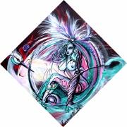 tableau nus electro rock musique rock : Angie