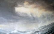 tableau marine mer vagues lumiere ocean : Lumière