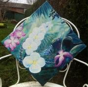 tableau fleurs foret orchidees zen amazonie : Fleurs Sauvages