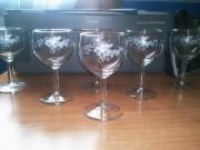 ceramique verre fruits verre gravure vin raisin : Verres à vin gravé vigne