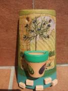 ceramique verre fruits tuile olive verte terrecuite : Les olives