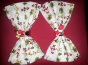 autres autres noel serviette rouge blanc : porte serviette