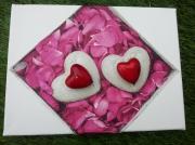 tableau autres coeur rouge tableau amour : Coeur