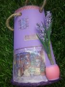 ceramique verre autres tuile marchand fleurs : Lavande