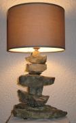 deco design autres pierre gres lampe : Fitou N°0003