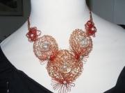 bijoux : collier laiton