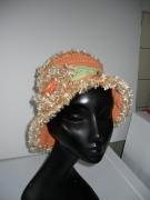 art textile mode : chapeau été