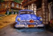 dessin paysages cuba aquarelle : Viva Cuba - La Havana