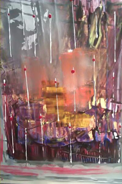 AUTRES abstrait moderne deco Abstrait  - venis