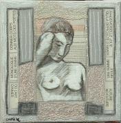 tableau abstrait : mademoiselle julie
