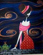 tableau personnages : La Princesse et la grenouille 2