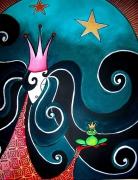 tableau personnages : La Princesse et la grenouille