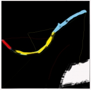 art numerique : Abstraction lyrique 01