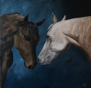 tableau animaux peinture animaux toile chevaux : 265 -  Chevaux