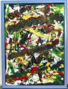 tableau abstrait : 80 - Fete foraine