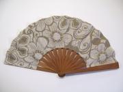 art textile mode fleurs eventail tissu air chic : GEFLE23