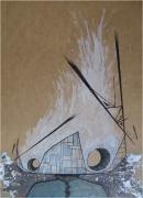mixte personnages surrealiste graff design : Tête en friche
