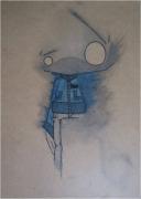 mixte personnages surrealiste graff design : Scribbleman