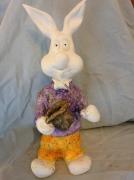 sculpture animaux sculpture lapin : Lapin magicien, vendu
