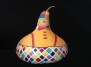 deco design paysages deco personnage clown acrylique : clown reservé